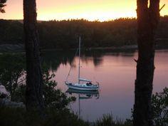 Djupviken - a wild anchorage in northern Åland Finland, Denmark, Norway, Sailing, Journey, Celestial, Sunset, Outdoor, Sunsets