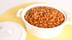 Easy BBQ Baked Beans Recipe - Laura Vitale - Laura in the Kitchen Episod...
