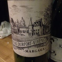 Chateau Durfort Vivens.  Margaux