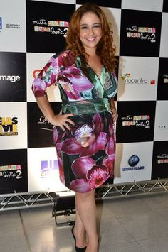 O elenco do filme Muita Calma Nessa Hora 2 se divertiu na noite de segunda-feira (13), durante a pré-estreia do longa, no Shopping Vila Olím...
