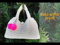 Bolsa de Mão em Crochê - Professora Simone Eleotério - YouTube