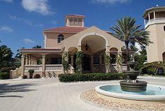 """Pretty, welcoming entrance at The Somerset."" via @Kara Williams @TheVacationGals #Caribbean #resort"
