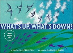 What's Up, What's Down?  by Lola M. Schaefer (2002), Illustrated Barbara Bash