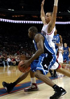 DeMarcus Nelson and Stephen Curry (Davidson)