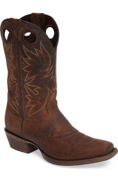 ARIAT Circuit Striker Cowboy Boot (Men). #ariat #shoes #boots