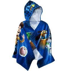 Disney Pixar Toy Story Hooded Towel by Disney. $19.09. Th? Toy St?r? Hooded Bath towel ?? perfect f?r ??th?r boys ?r girls, ?nd fr?m toddlers t? tweens.  Gr??t ??? f?r th? pool, beach ?r even bath time. The colorful piece features characters from Disney's Toy Story on a blue background. The 100% terry cotton material is machine washable for easy care and soft against your child's skin for added comfort.  Th?? towel h?? Buzz Lightyear design th?t w?ll surely le...