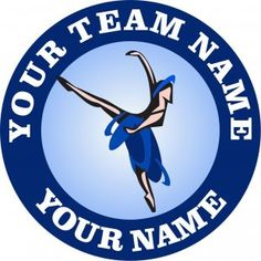 The customized ballet Logo is designed exactly as your request. You can choose any Team Name, Dancer'Name and Number, Background Colors and Image Inside its Circles by any size. Team Names, Colorful Backgrounds, Ballet, Iron, Logos, Logo, Ballet Dance, Dance Ballet, Steel