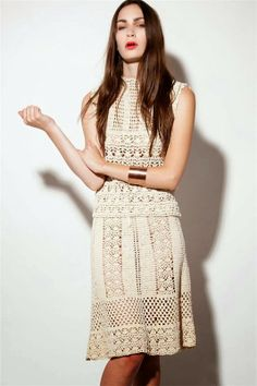 crochelinhasagulhas: abito crochet