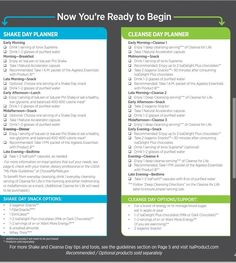 isagenix 30 day cleanse daily schedule - Google Search