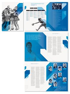 Netball Victoria Annual Report by Lemonade #lemonade #annualreport #netballvictoria