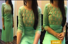 Colors & Crafts Boutique™ offers unique apparel and jewelry to women who value versatility, style and comfort. For inquiries: Call/Text/Whatsapp Churidar Designs, Kurti Neck Designs, Blouse Designs, Dress Designs, Salwar Pattern, Kurta Patterns, Kurtha Designs, Kurti Styles, Indian Designer Wear