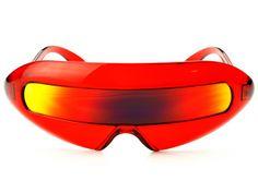 15b8a9babdb Unique Alien Robot Reflective Mirror Lens Party Sunglasses Shades P24