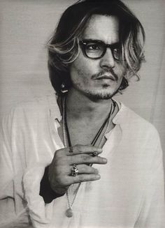Johnny Depp - Clearly a Hipster - Maybe he's take 'method acting' a step too far - but undeniably beautiful