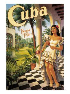 Cuba Wall Decal