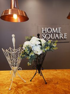 Get creative and think outside the umbrella stand with this fabulous idea from Home Square! Artificial flowers, €9, Umbrella Stands, €34, available instore now!