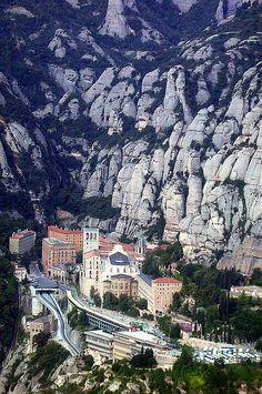 Monestir de Montserrat, Catalonia, Spain,