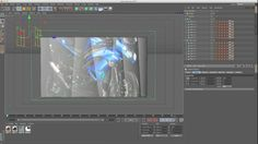 Camera Mapping Textures Onto Fracture & Cloner Objects in Cinema 4D