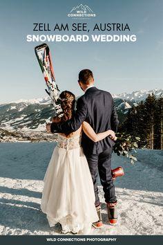 Skiing Wedding in the Austrian Alps.