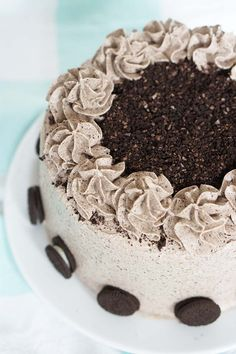 Cake nature fast and easy - Clean Eating Snacks Cake Recept, Haitian Food Recipes, Recipe For Teens, Fancy Desserts, Oreo Cake, Pastry Cake, Drip Cakes, Piece Of Cakes, Savoury Cake