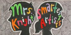 Knight's Smartest Artists : A peek into the busy art room of Hope Knight, art teacher and the artists at Dolvin Elementary School, Johns Creek, Georgia, USA Art Classroom, Classroom Ideas, Classroom Behavior, Classroom Inspiration, Arts Ed, Art School, School Stuff, School Ideas, Teacher Blogs