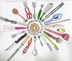 kitchen mandala
