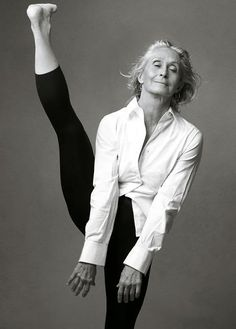 Twyla Tharp (age 66) photographed by Annie Leibovitz