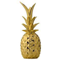 Collar Rosegold la piña Pineapple minimal Edel filigrana statement Boho