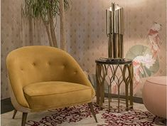 The Values and Influence of the Italian Interior Designers Sofa Inspiration, Living Room Inspiration, Living Room Sets, Living Room Decor, Zaha Hadid Design, Yellow Sofa, Luxury Interior Design, Interior Ideas, World Of Interiors