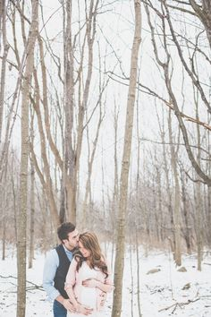 michigan|winter wonderland for baby | Alissa Saylor Photography