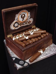 1000 Ideas About Cigar Cake On Pinterest Cakes