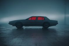 Recom Farmhouse and photographer Tomek Olszowski imagined a photoshoot paying tribute to the famous Aston Martin Lagonda, manufactured in 645 exemplars between Aston Martin Lagonda, Cinematic Photography, Car Photography, Street Photography, Photography Storytelling, Automotive Photography, Ford Mustang 1969, Station Essence, Arte Cyberpunk
