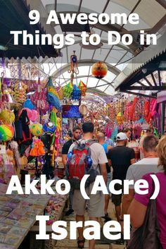 Located along the northern coast of Israel, the Old Port City of Akko (Acre) is an absolute gem. Here are 9 things you really should be doing when visiting Akko. Travel Advice, Travel Guide, Palestine, Acre Israel, Stuff To Do, Things To Do, Israel Travel, Israel Trip, Together Lets