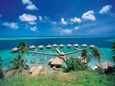 Te Tiare Beach Resort, Huahine in French Polynesia