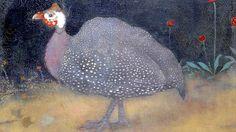 Jan Mankes, De Parelhoen (The Guinea Fowl) Art And Illustration, Fine Art Drawing, Art Drawings, Dutch Painters, Dutch Artists, Museum Of Modern Art, Animal Paintings, Bird Art, Art World