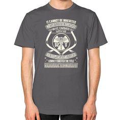 IT CANNOT BE Technologistz Unisex T-Shirt (on man)
