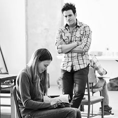First look at #Violet in the rehearsal room!