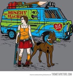 Funny pictures about Scooby-Doo just got real. Oh, and cool pics about Scooby-Doo just got real. Also, Scooby-Doo just got real photos. Thundercats, Cartoon Cartoon, Retro Cartoons, Apocalypse Des Zombies, Apocalypse Art, Caricatures, Catwoman, Zombie Hunter, Girly
