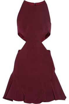 CUSHNIE ET OCHS Cutout Stretch-Jersey Mini Dress. #cushnieetochs #cloth #dress