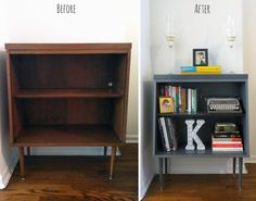 how to use a bookcase as an entryway piece - Google Search