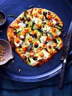 pumpkin gorgonzola sage and pine nut pizza more food pumpkin nut ...