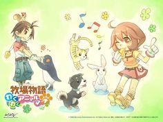 Harvest Moon: Animal Parade official artwork