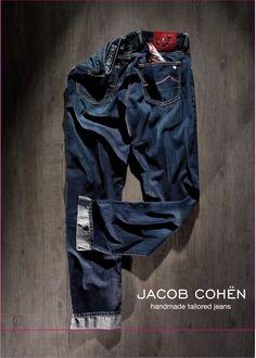 Jacob Cohen Ad #JacobCohen #Ad #TailoredJeans #Denim