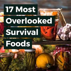 survival food There are many survival foods that get overlooked by some preppers. Here is a list of energy-rich foods that offer a long shelf life as well as nutrition that you will need in an emergency scenario. Emergency Food Storage, Emergency Food Supply, Emergency Preparedness Kit, Emergency Preparation, Survival Prepping, Survival Skills, Survival Gear, Wilderness Survival, Survival Hacks