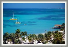 Aruba...Ahhh...brings back memories lol. Sure miss this gorgeous view some days!