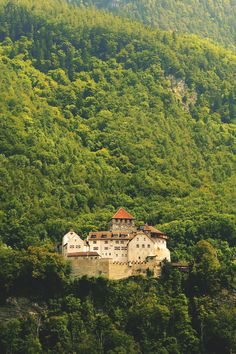 Vaduz Castle, Liechtenstein: The primary residence of the Prince of Liechtenstein, this castle sits atop a hill overlooking Vaduz...
