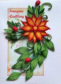 Quilling for the fun of it! Neli Quilling, Paper Quilling Flowers, Paper Quilling Patterns, Quilling Paper Craft, Paper Crafts, Paper Quilling For Beginners, Quilling Techniques, Quilling Tutorial, Quilling Christmas