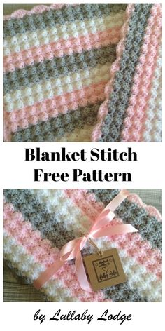 Crochet Afghan Lullaby Lodge: Tutorials - Learn how to crochet with these step by step tutorials. Bobble Stitch Crochet Blanket, Plaid Au Crochet, Crochet Baby Blanket Free Pattern, Easy Crochet Blanket, Crochet For Beginners Blanket, Crochet Stitches Patterns, Crocheted Baby Blankets, Blanket Stitch, Free Crochet