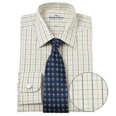 Savile Row Mens Navy Tan White Tattersall Check « Clothing Impulse