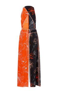 Sleeveless Paneled Dress by Diane von Furstenberg | Moda Operandi