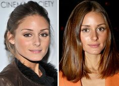 Do You Prefer Olivia Palermo's Hair Up in a Bun or Down in a Lob? | POPSUGAR Beauty Australia
